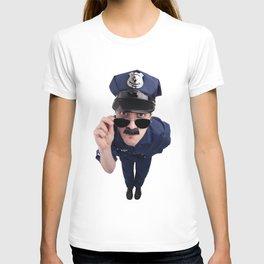 Curious Cop T-shirt