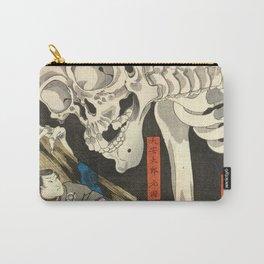 Utagawa Kuniyoshi - Takiyasha the Witch and the Skeleton Spectre Carry-All Pouch