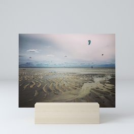 Kitesurfing Chapin Beach, Cape Cod 2 Mini Art Print