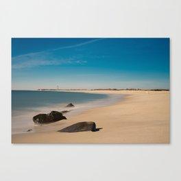 Cape May Beach Canvas Print
