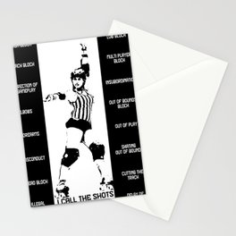 I call the shots Stationery Cards