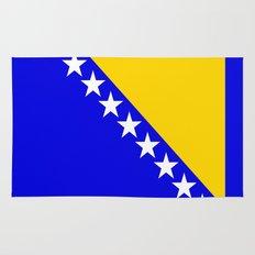 Bosnia and Herzegovina country flag Rug