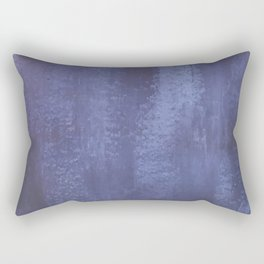 Faded Brushstroke - Indigo Rectangular Pillow