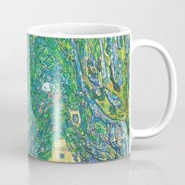Gustav Klimt - Allee im Park von Schloss Kammer (new editing) Coffee Mug
