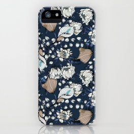 Night bloom of vintage graden iPhone Case