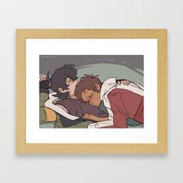 Napping Framed Art Print