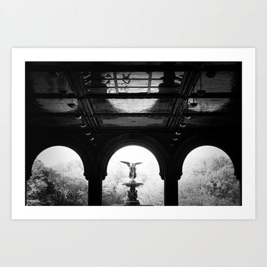 Bethesda Fountain - Central Park Art Print