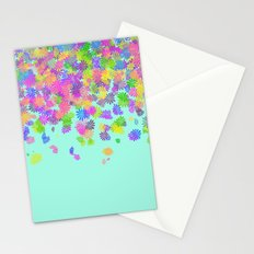 Groovy on Mint Stationery Cards