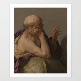 Hendrick ter Brugghen - Heraclitus Art Print