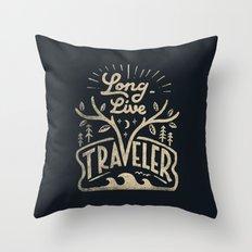 Long Live Throw Pillow