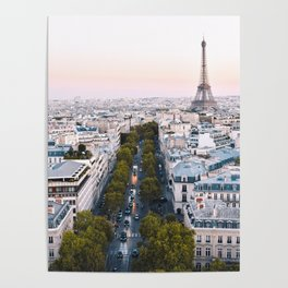 Paris City Poster