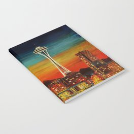 Seattle from Alki Notebook