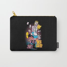 Tick Tock Girl Carry-All Pouch