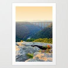 Sunset at Longpoint Art Print