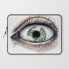 Macro Eye Laptop Sleeve