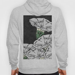 MARBLE FLOWERS (abstract) Hoody