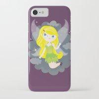 fairy iPhone & iPod Cases featuring Fairy by Maria Jose Da Luz