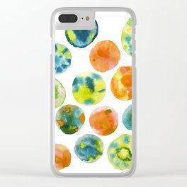 Bubbliscious Clear iPhone Case
