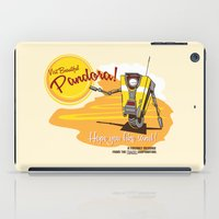 borderlands iPad Cases featuring Visit Pandora! by Andy Hunt