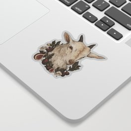 Goat and Figs Sticker