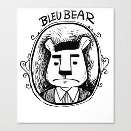 Bleubear Plays Corpse Craft Canvas Print