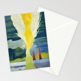 Burning Tree Stationery Cards