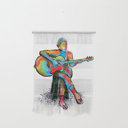 The guitarist Wall Hanging