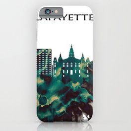 Lafayette Skyline iPhone Case
