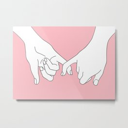 Pinky Promise 2 Metal Print
