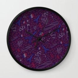 French pattern Wall Clock