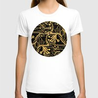 techno T-shirts featuring Techno Organic  by Leigh Wortley