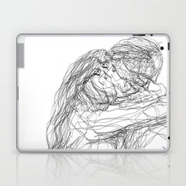 make-out? (B & W) Laptop & iPad Skin