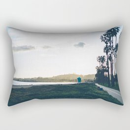 On the Way to the Beach Rectangular Pillow