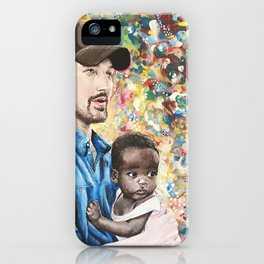 He Went To Africa iPhone Case