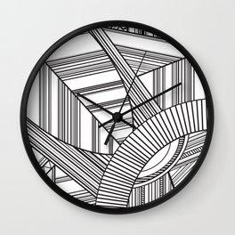 HI KEY YA Wall Clock
