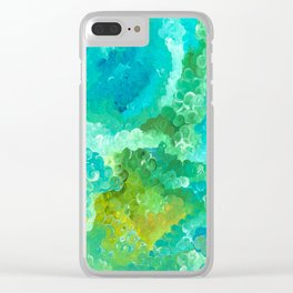Well Below the Surface Clear iPhone Case