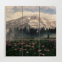 Mt Rainier Wood Wall Art