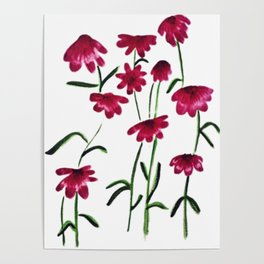 Every flower is a soul blossoming in nature Poster