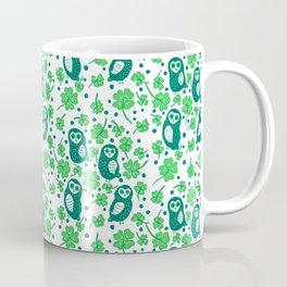 Shamrock Owls Coffee Mug