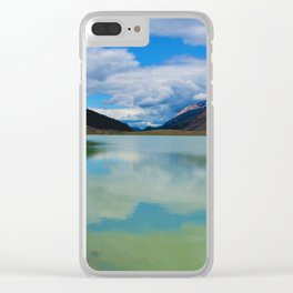 Sunwapta Lake at the Columbia Icefields in Jasper National Park, Canada Clear iPhone Case