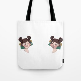 Demon Twins Tote Bag