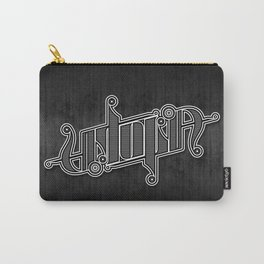 Uptopia Ambigram Carry-All Pouch