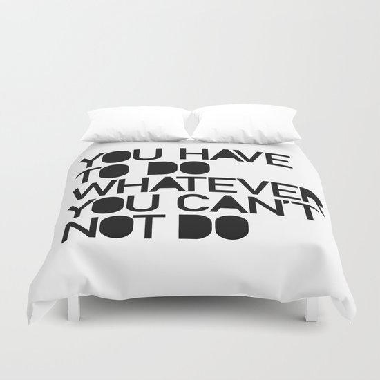THE CHOICE Duvet Cover