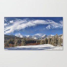 Rocky Mountain Park  by Lena Owens Canvas Print