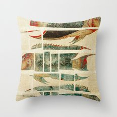 Fish Under Strong Radiation 2 Throw Pillow