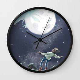 Le chant des baleines Wall Clock