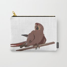 Bird, Parrot, Ara, Photography, BebiCervin Carry-All Pouch