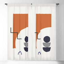 Abstract Shapes - Autumn Blackout Curtain