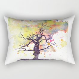 Alone Dead Tree Rectangular Pillow