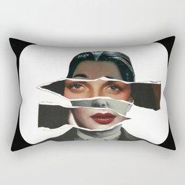 ...Who Are You ? ... Rectangular Pillow